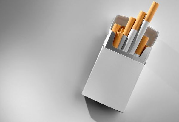 Cigarette-Packet